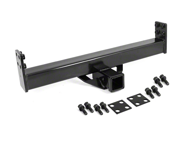 Rugged Ridge XHD Rear Bumper 2-Inch Receiver Hitch (87-06 Jeep Wrangler YJ & TJ)