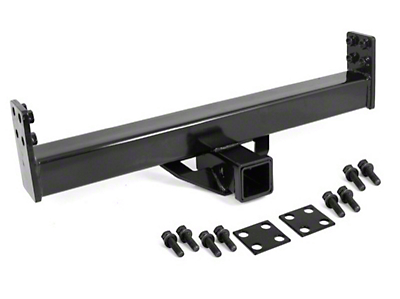 Rugged Ridge 2 in. Hitch Reciever for XHD Rear Bumper (87-06 Wrangler YJ & TJ)