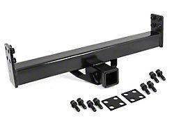 Rugged Ridge 2 in. Hitch Receiver for XHD Rear Bumper (87-06 Jeep Wrangler YJ & TJ)
