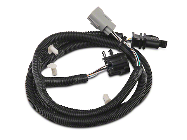 Rugged Ridge Trailer Wiring Harness; Plug-N-Play (07-18 Jeep Wrangler JK)