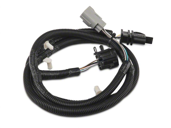 shop parts in this guide  rugged ridge tow hitch wiring harness (07-18 jeep  wrangler