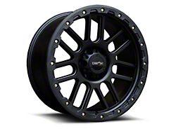 Vision Off-Road 111 Nemesis Matte Black Wheel; 20x9 (20-22 Jeep Gladiator JT)