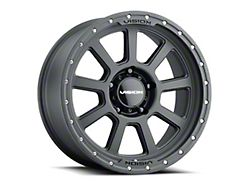 Vision Off-Road 350 Ojos Satin Black Wheel; 18x9 (20-22 Jeep Gladiator JT)
