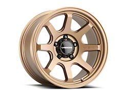 Vision Off-Road 351 Flow Bronze Wheel; 17x8 (07-18 Jeep Wrangler JK)