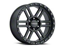 Vision Off-Road 354 Manx 2 Satin Black Wheel; 17x9 (20-22 Jeep Gladiator JT)