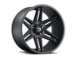 Vision Off-Road 363 Razor Satin Black Wheel; 20x12 (20-22 Jeep Gladiator JT)