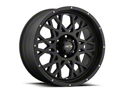 Vision Off-Road 412 Rocker Satin Black Wheel; 20x12 (18-21 Jeep Wrangler JL)