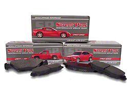 SP Performance Street Plus Semi-Metallic Brake Pads; Front Pair (07-18 Jeep Wrangler JK)