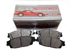 SP Performance Street Plus Semi-Metallic Brake Pads; Front Pair (90-06 Jeep Wrangler YJ & TJ)