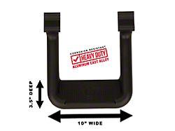 Carr HOOP II; Side Step; XP3 Black Powder Coat; Pair (18-21 Jeep Wrangler JL)
