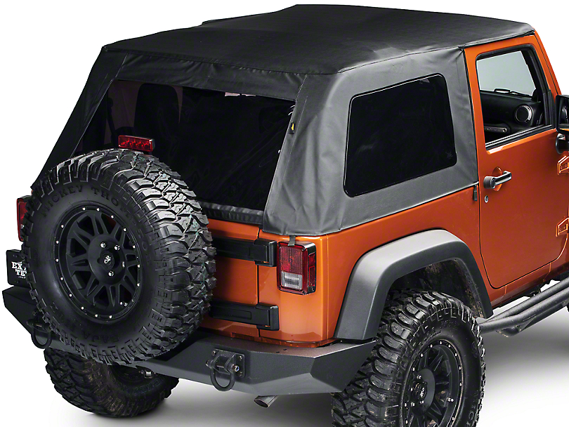 Bestop Trektop Classic Complete Replacement Soft Top (07-18 Wrangler JK 2 Door)