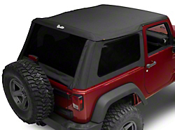 Jeep Wrangler Fastback Soft Tops | ExtremeTerrain - Free Shipping