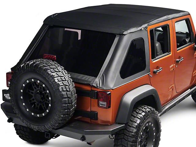 Bestop Trektop NX Soft Top (07 18 Jeep Wrangler JK 4 Door)