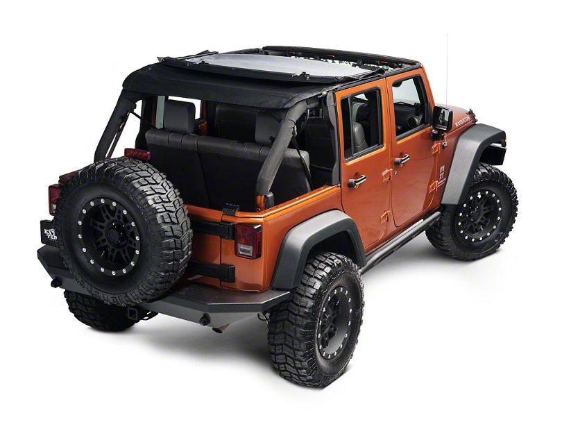 Bestop Trektop NX Soft Top (07-18 Jeep Wrangler JK 4 Door)
