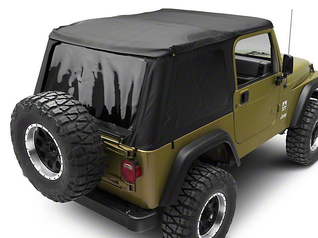Bestop Trektop NX Soft Top - Black Denim (97-06 Jeep Wrangler TJ, Excluding Unlimited)