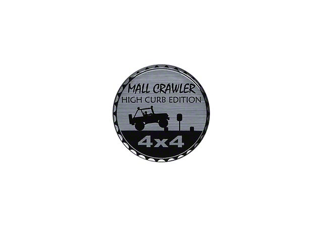 Mall Crawler Rated Badge (Universal; Some Adaptation May Be Required)
