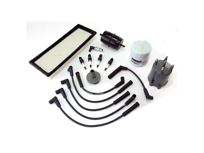 Ignition Tune Up Kit (87-90 2.5L Jeep Wrangler YJ)