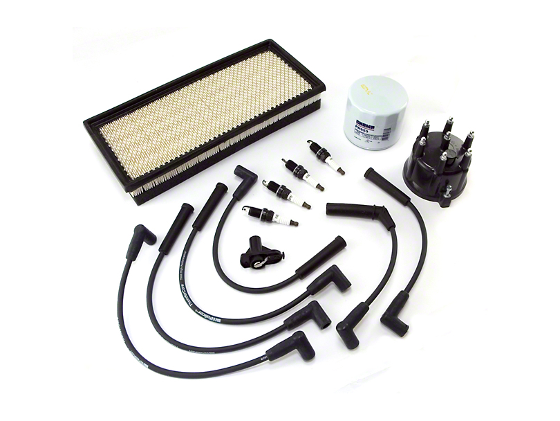 Ignition Tune Up Kit (97-98 2.5L Jeep Wrangler TJ)