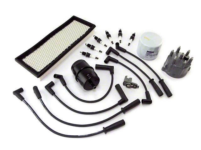 Ignition Tune Up Kit (91-93 4.0L Jeep Wrangler YJ)