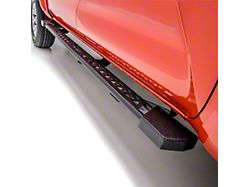 Rocker Step Running Boards; Textured Black (07-18 Jeep Wrangler JK 4-Door)