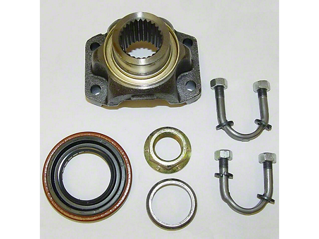 Dana 35 U-Bolt Design Pinion Yoke Kit (87-93 Jeep Wrangler YJ)