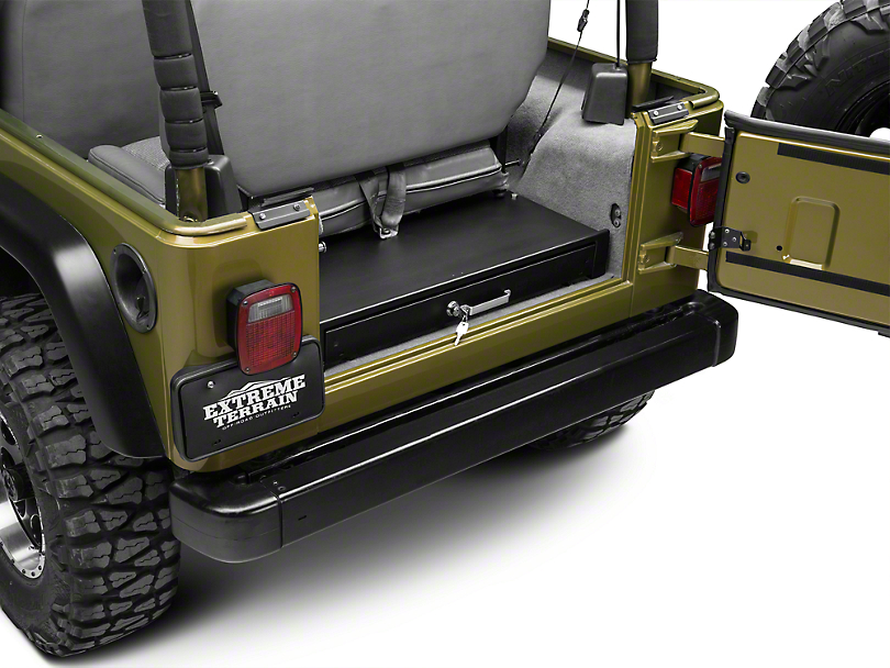 Tuffy Jeep Wrangler Underseat Full Length Locking Drawer