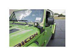 Custom Pillar Mounting Brackets (18-22 Jeep Wrangler JL, Excluding 4xe)
