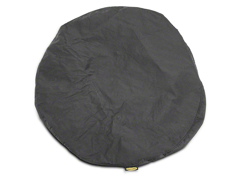 Smittybilt 27-29 in. Spare Tire Cover - Black (87-20 Jeep Wrangler YJ, TJ, JK & JL)