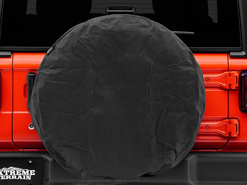 Smittybilt 33-35 in. Spare Tire Cover (87-19 Jeep Wrangler YJ, TJ, JK & JL)
