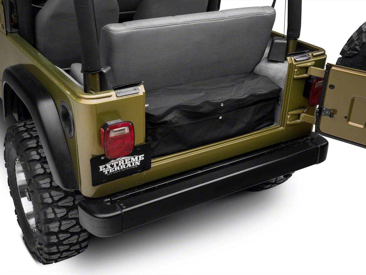 2007-2018 JK Jeep Wrangler Rear Cargo Storage  sc 1 st  Extreme Terrain & 2007-2018 JK Jeep Wrangler Rear Cargo Storage | ExtremeTerrain ...