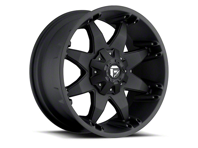 Fuel Wheels Octane Matte Black Wheel; 20x12 (97-06 Jeep Wrangler TJ)