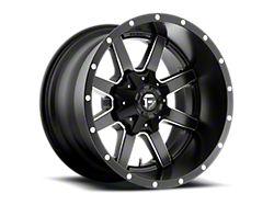 Fuel Wheels Maverick Matte Black Milled Wheel; 20x12 (97-06 Jeep Wrangler TJ)