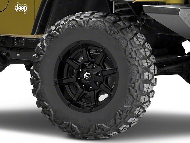 Fuel Wheels Coupler Gloss Black Wheel; 17x9 (97-06 Jeep Wrangler TJ)
