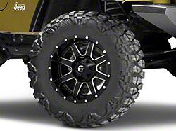 Fuel Wheels Maverick Gloss Black Milled Wheel; 18x9 (97-06 Jeep Wrangler TJ)