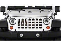 Grille Insert; American Grunge (76-86 Jeep CJ5 & CJ7)