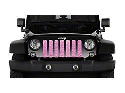 Grille Insert; Baby Pink Storm (20-22 Jeep Gladiator JT)