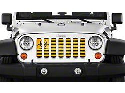 Grille Insert; Biohazard (20-22 Jeep Gladiator JT)