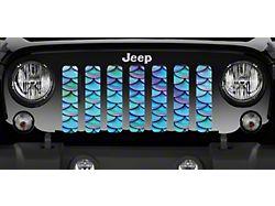 Grille Insert; Blue and Purple Mermaid Sales (20-22 Jeep Gladiator JT)