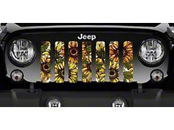 Grille Insert; Bold Sunflower (20-22 Jeep Gladiator JT)