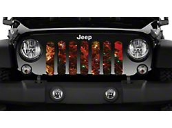 Grille Insert; Glowing Branches (20-22 Jeep Gladiator JT)