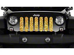 Grille Insert; Gold Flake (20-22 Jeep Gladiator JT)
