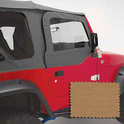 Rugged Ridge Upper Soft Door Kit - Spice (97-06 Wrangler TJ w/ Factory Soft Top)