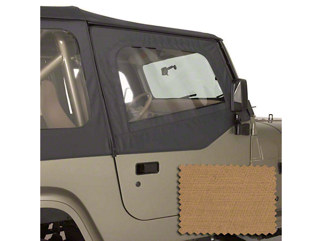 Rugged Ridge Upper Soft Door Kit - Spice (88-95 Jeep Wrangler YJ)
