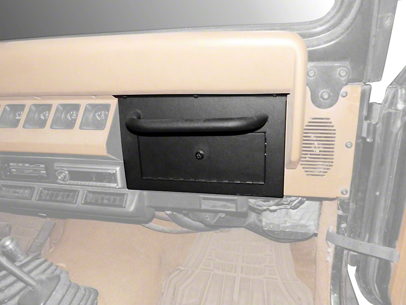 Smittybilt Vaulted Glove Box (87-95 Jeep Wrangler YJ)