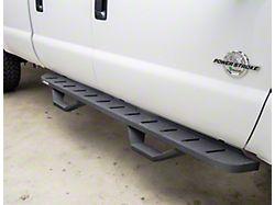 RB10 Running Boards with Drop Steps; Textured Black (07-18 Jeep Wrangler JK 2-Door)