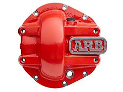 ARB M210 Front Differential Cover; Red (18-22 Jeep Wrangler JL Rubicon)