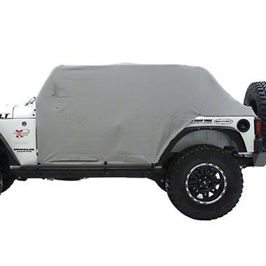 Smittybilt Water Resistant Cab Cover w/ Door Flaps (87-91 Jeep Wrangler YJ)