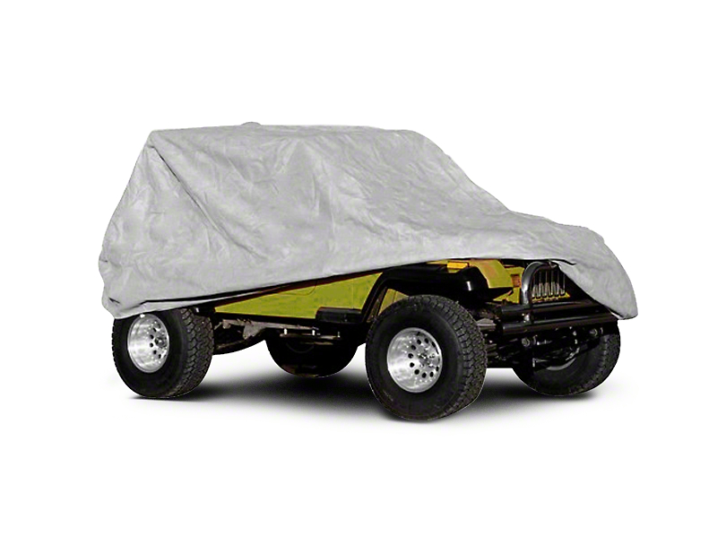 Rugged Ridge Weather Light Full Cover (87-06 Jeep Wrangler YJ & TJ)