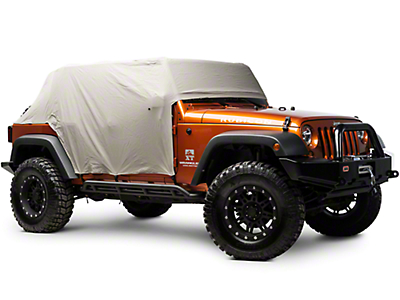 Rugged Ridge Weather Lite Cab Cover (07-18 Jeep Wrangler JK 4 Door)