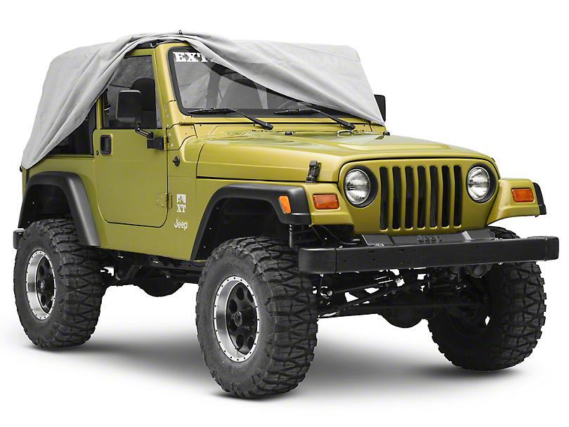 Rugged Ridge Weather Lite Cab Cover (87-06 Jeep Wrangler YJ & TJ)